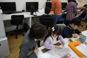 5歳の女の子も楽しそうに学んでいます!!
